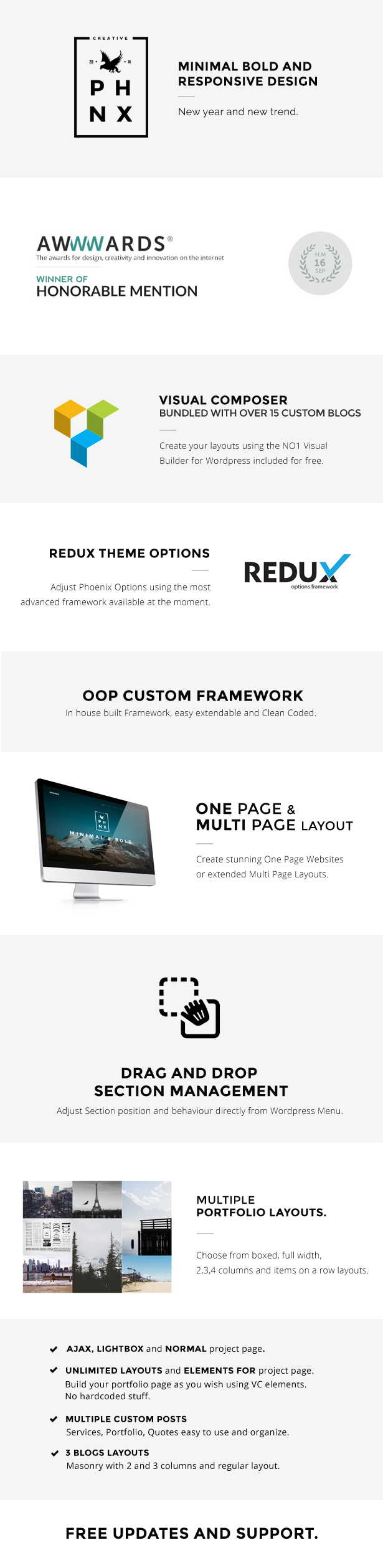Phoenix - WordPress Minimal Multipurpose Portfolio Visual Composer
